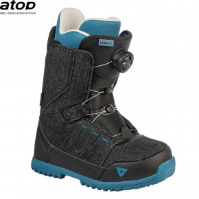 Go to the product Boots Gravity Micro Atop black denim 2020/2021