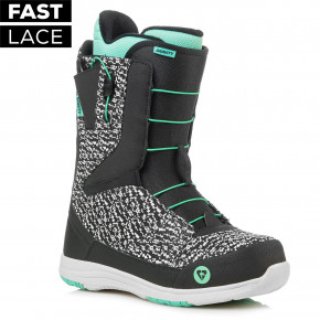 Gravity Sage Fast Lace black/mint