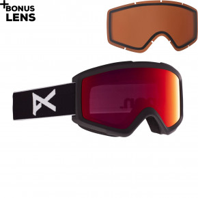 Go to the product Goggles Anon Helix 2.0 black 2020/2021