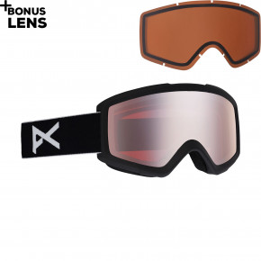Go to the product Goggles Anon Helix 2.0 W/spare black 2020/2021