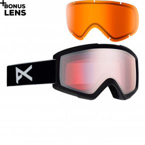 Go to the product Goggles Anon Helix 2 Sonar W/spare black 2019/2020