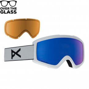 Go to the product Goggles Anon Helix 2 Sonar W/spare white 2018/2019