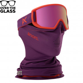 Go to the product Goggles Anon Relapse Jr MFI purple 2018/2019