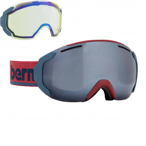 Go to the product Goggles Bern Jackson maroon/navy retro 2018/2019