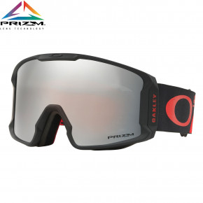 Go to the product Goggles Oakley Line Miner harlaut shredbot red black 2018/2019