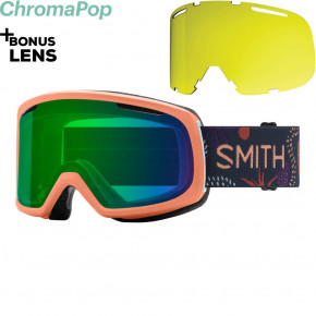 Go to the product Goggles Smith Riot salmon bedrock 2020/2021