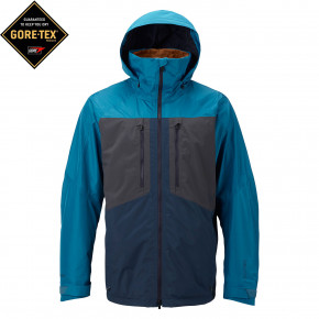 Go to the product Jacket Burton Ak Swash mountaineer/faded/mood indigo 2017/2018