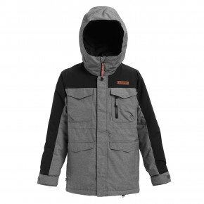 Prejsť na produkt Bunda Burton Boys Covert heather bog/true black 2020/2021