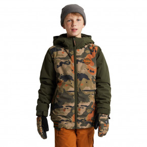 Go to the product Jacket Burton Boys Game Day kelp birch camo 2020/2021