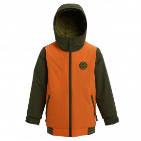 Přejít na produkt Bunda Burton Boys Gameday russet orange/forest night 2019/2020