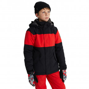 Go to the product Jacket Burton Boys Symbol true black/flame scarlet 2020/2021