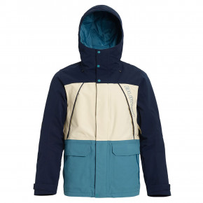 Go to the product Jacket Burton Breach dress blue/almond milk/storm blu 2019/2020