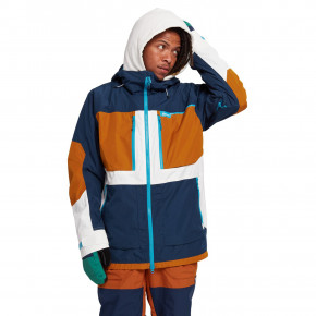 Go to the product Jacket Burton Frostner dress blue/true penny/stout whit 2020/2021