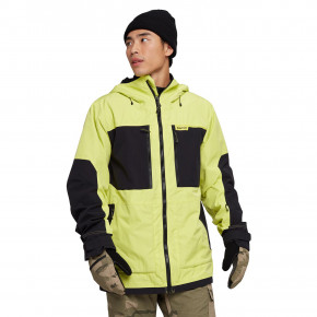 Go to the product Jacket Burton Frostner limeade/true black 2020/2021