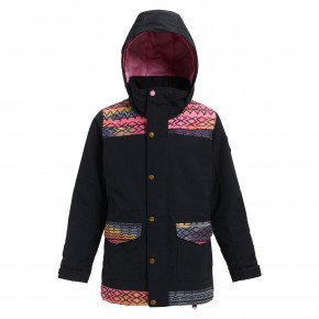 Přejít na produkt Bunda Burton Girls Elstar Parka true black/technicat dream 2018/2019