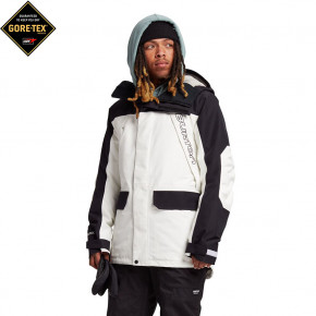 Go to the product Jacket Burton Gore Breach stout whiite/true black 2020/2021