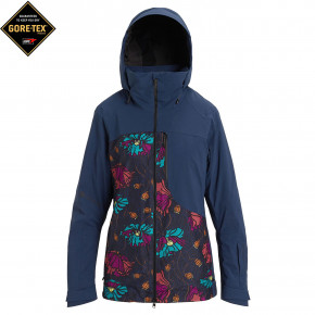Go to the product Jacket Burton Wms AK Gore Embark dress blue/bona flora 2019/2020