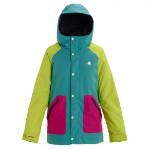 Go to the product Jacket Burton Wms Eastfall green-blue slate/tender shoots/f 2019/2020