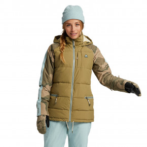 Go to the product Jacket Burton Wms Keelan martini olive/barren camo/ether 2020/2021
