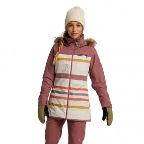 Go to the product Jacket Burton Wms Lelah rose brown/creme brulee woven 2020/2021