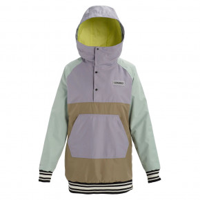 Go to the product Jacket Burton Wms Loyle Anorak aqua grey/lilac grey/timber 2019/2020