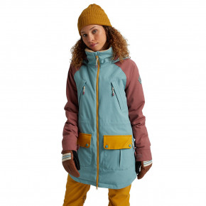 Go to the product Jacket Burton Wms Prowess trellis/rose brown/harvest gold 2020/2021