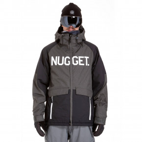 Prejsť na produkt Bunda Nugget Scalar 2 charcoal heather/black 2018/2019