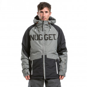 Prejsť na produkt Bunda Nugget Scalar heather black/grey 2017/2018