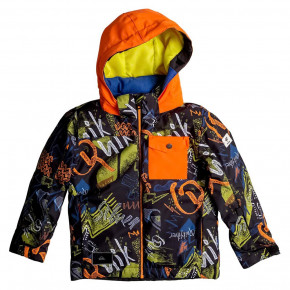Prejsť na produkt Bunda Quiksilver Little Mission Kids black thunderbolt kids 2017/2018