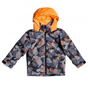 Przejść do produktu Kurtka Quiksilver Little Mission Kids shocking orange wichita 2020/2021