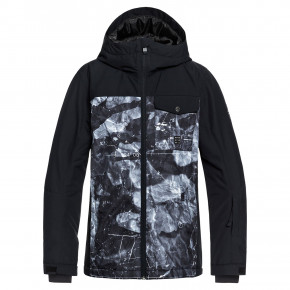 Przejść do produktu Kurtka Quiksilver Mission Block Youth black/tannenbaum 2018/2019