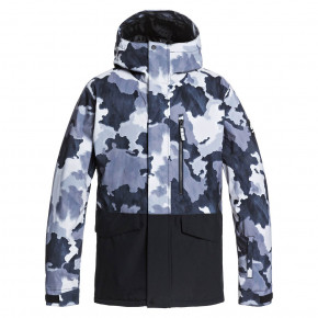 Go to the product Jacket Quiksilver Mission Printed Block true black bustin big camo 2020/2021