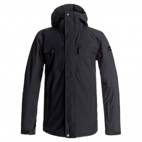 Go to the product Jacket Quiksilver Mission Solid black 2017/2018