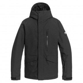 Go to the product Jacket Quiksilver Mission Solid true black 2020/2021