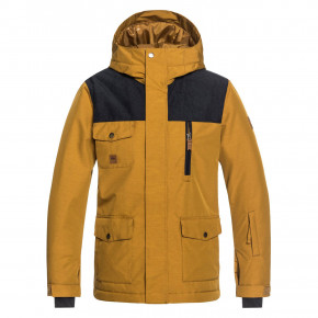 Prejsť na produkt Bunda Quiksilver Raft Youth golden brown 2018/2019