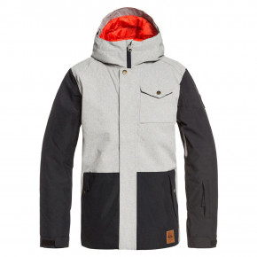 Přejít na produkt Bunda Quiksilver Ridge Youth light grey heather 2019/2020
