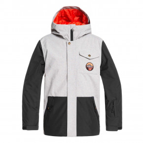 Przejść do produktu Kurtka Quiksilver Ridge Youth light grey heather 2019/2020