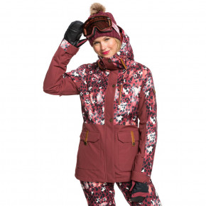 Go to the product Jacket Roxy Andie Parka oxblood red leopold 2020/2021