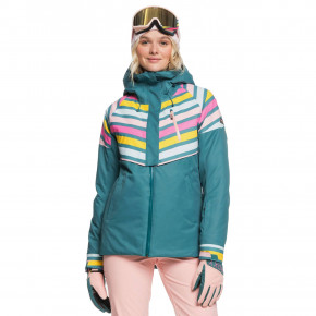 Go to the product Jacket Roxy Frozen Flow north sea pop snow 2019/2020
