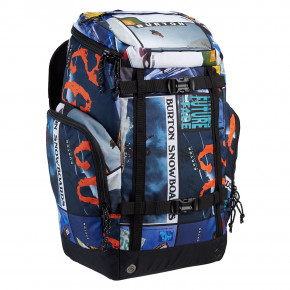 Go to the product Snowboard backpack Burton Booter catalog collage print 2020/2021