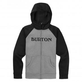 Go to the product Tech Hoodie Burton Boys Oak Fz Hoodie grey heather 2019/2020