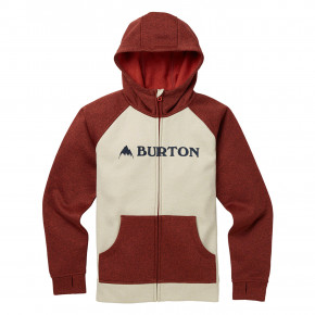Go to the product Tech Hoodie Burton Boys Oak Fz pelican heather/bitters heather 2018/2019
