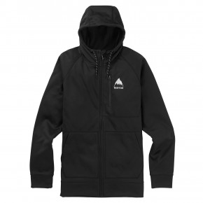Go to the product Tech Hoodie Burton Crown Bonded Fz true black 2019