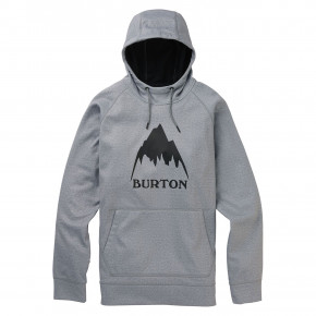 Go to the product Tech Hoodie Burton Crown Bonded Pullover grey heather 2019/2020