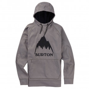 Go to the product Tech Hoodie Burton Crown Bonded Pullover grey heather 2019