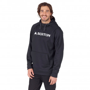 Prejsť na produkt Burton Crown Bonded Pullover true black heather 2018/2019