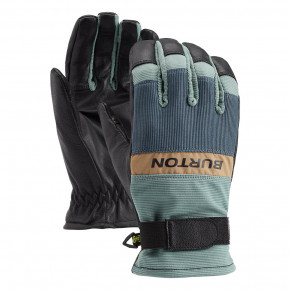 Prejsť na produkt Rukavice Burton Daily Leather Glove trellis/dark slate 2020/2021