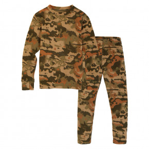 Prejsť na produkt Tričko Burton Fleece Base Layer Set Kids kelp birch camo 2020/2021