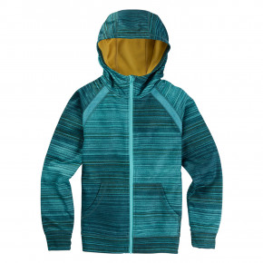 Go to the product Tech Hoodie Burton Girls Crown Bonded FZ tahoe sunset stripe 2018/2019