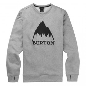 Go to the product Tech Hoodie Burton Oak Crew grey heather 2019/2020